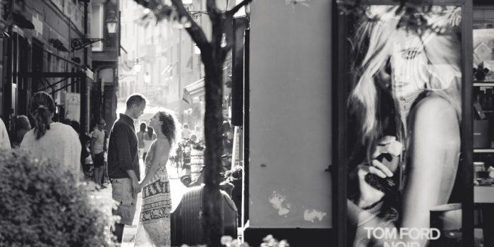 Engagement in Santa Margherita Ligure